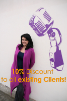 10% OFF for existing clients!