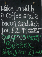 Coffee + Bacon Sandwich for £2.99 Only - Brighthelm Breakfast