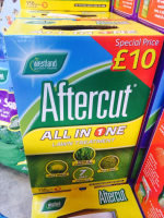 Aftercut - All in one Lawn care now available at Brondesbury Garden Centre