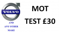 MOT for £30, usually £54.85!
