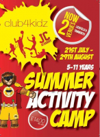 Summer Activity Camp £12 per day