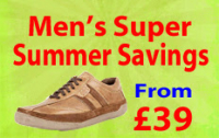 Great Savings on Mens Shoes and Sandles