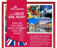 The P&O Great Sail Away