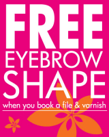 FREE eyebrow shape