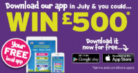 Win £500 by installing thebestof mobile app!