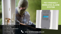 Installed alarm £399 + VAT 20% off Visionic Wireless alarm system for home or business. Normally $499 + VAT