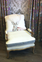 Luxurious Voyage 'Stag' Chair now under £500 at Groves Interiors