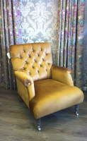 Gold Voyage Chair save over £250! at Groves Interiors
