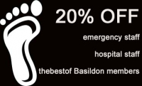 20% OFF Foot Treatmemts