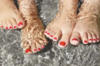 £50 FOR A MANICURE/PEDICURE WITH ARTISTIC COLOUR GLOSS FROM BELLA SPA