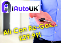 Air Con Re-Gas only £29.99!