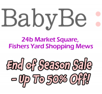 BabyBe: End of Season Sale - Up To 50% Off!!