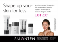 Shape up your skin for less