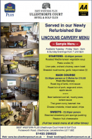 Special Carvery Offer 2 for £10 at certain times