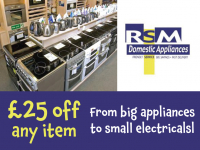 Download this £25 voucher to spend on anything from iphone chargers to ovens!