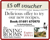£5 Off Voucher - Try Delicious New Recipes