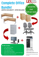COMPLETE OFFICE BUNDLE JUST £20 PER WEEK.