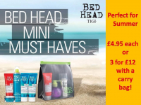 FREE carry bag with TIGI Mini Products