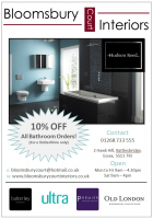 10% OFF Your New Bathroom