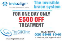£500 off Invisalign Treatment - one day only