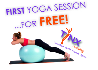Tinx Training - first yoga session for FREE!
