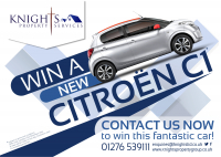 Win a New Citroen C1!