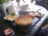 Toasted Teacake + Regular Tea or Coffee just £2.50!
