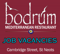 Job Vacancies - The Bodrum Restaurant St Neots