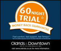 60 Night Trial: Money back guarantee