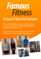4 Free Fitness Sessions saving £28!