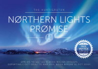 """The Hurtigruten Northern Lights Promise"""