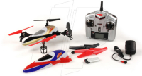 Gyro-stabilised Ready-to-fly R/C Quadcopter!