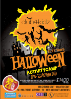 Half Term Halloween Activity Camp