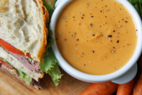 Autumn Soup + a Sandwich just £5.50
