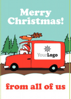 Edit & Go Christmas Cards: Half Price!