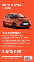 FREE INSURANCE ON THE AYGO X-CITE