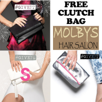 FREE Clutch Bag with Bedhead, Catwalk or S Factor products from Molbys