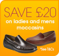 Save £20 on ECCO Moccasins