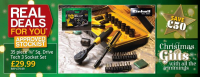 "Save £50 35 Piece 3/8"" sq Socket Set @ Towy Works"