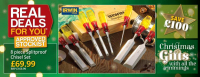 SAVE £100! Irwin Marples Chisel Set at Towy Works