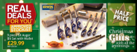 Half Price 9 piece 6x Augur Bit Set