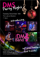2 Free Tickets to DMS Xmas party event