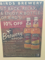 10% Off at Birds Brewery Shop