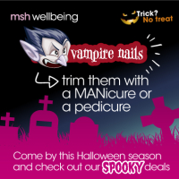 Do you you have Vampire nails? Let us sort them for you with 40% off this ultimate combination of a MANicure and pedicure.