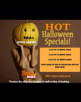 £5 OFF TANNING WITH HOT HALLOWEEN OFFERS!