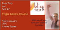 Book early and SAVE £7 on Yoga Basics Course!