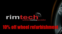 10% OFF Wheel Refurbishment