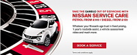 Nissan Service Care - Petrol from £149/Diesel from £159