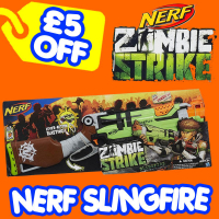 Save £5 on the Nerf Zombie Strike SlingFire Blaster