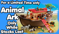 Save £20 on the Playmobil Noah's Animal Ark